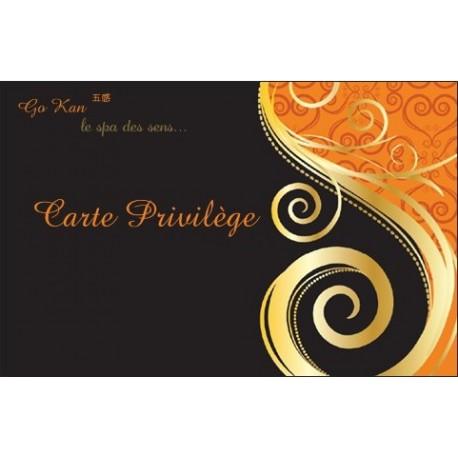 Carte Privilége