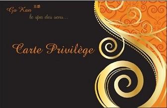 Carte Adhérent Privilége